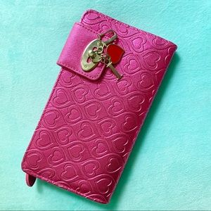 Metallic Pink 💖 Heart Wallet 💖